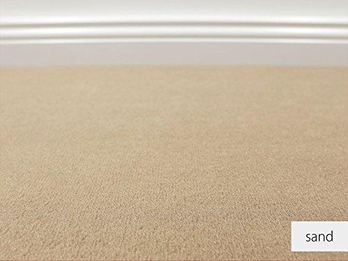 Teppichboden Auslegware Vorwerk Bijou UNI Sand 400 x 300 cm 19,80 EUR / m²