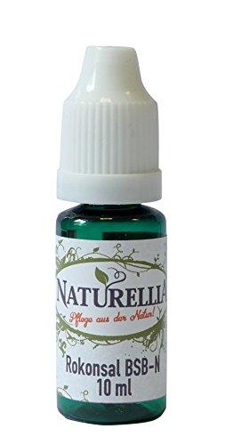 Conservantes para cosméticos rokonsal 10ml para fabricación de maquillaje natural, contra bacterias Virus gérmenes Levadura setas