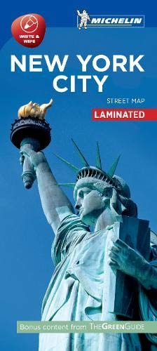 New York - Michelin City Map 9204: Laminated City Plan