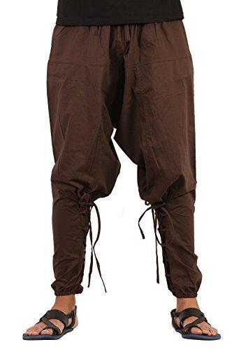 The Harem Studio Hombre Mujer Pantalones Harem Unisex Bombachos Ligero