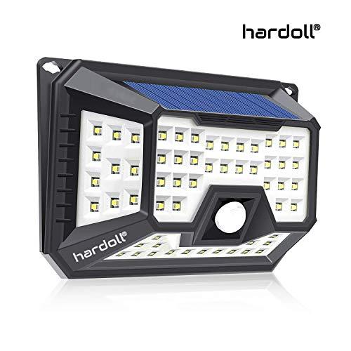 Hardoll Solar Lights for Garden 66 LED Motion Sensor Security Waterproof Lamp for Home,Outdoors Pathways