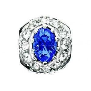 TOC BEADZ Royal Wedding Sapphire Engag. Ring Bead