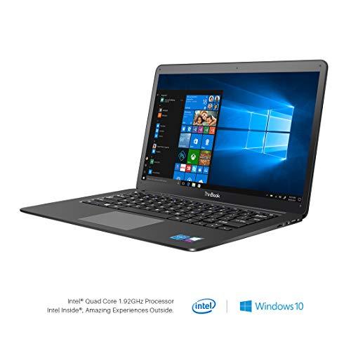 RDP ThinBook 1450-EC2 14.10-inch Laptop (Intel Quad Core x5-Z8350 Processor/2GB/32GB HDD/Windows 10/Integrated Graphics), Black
