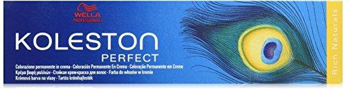 WELLA KP Rich Naturals - Permanente Haarfarbe - 7/37, Mittelblond Gold Braun, 1er Pack (1 x 60 ml) -