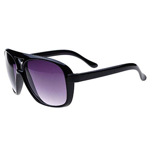 Z-P Unisex Fashion New Style Hot Sell Wayfarer Double Beam Toad Big Frame Sunglasses UV400 53MM