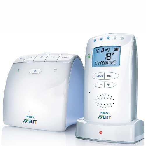 Philips AVENT - SCD520/00 - Ecoute-bébé DECT - Rechargeable