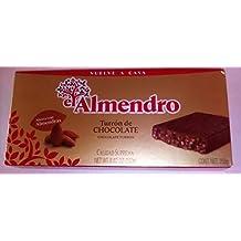 El Almendro Turrón de chocolate con almendras 250 ...