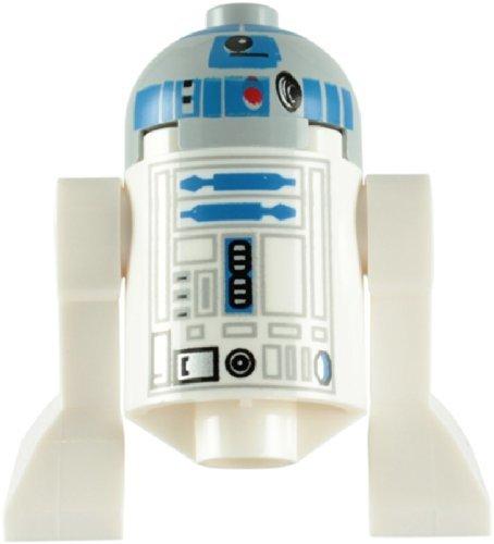 LEGO Star Wars - Minifigur R2-D2 Astromech Droid mit grauem Kopf (Star Wars-droid-action-figuren)