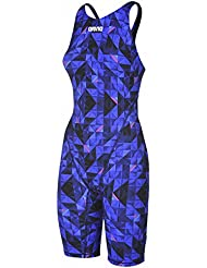 Limited Edition Powerskin ST 2 Full Body Short Leg - Navy and Pink Size 32 / Blue