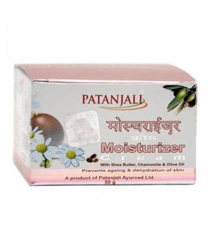 PATANJALI Baba Ramdev Moisturizer Cream Cleanses for Skin (Each Pack 50gm)