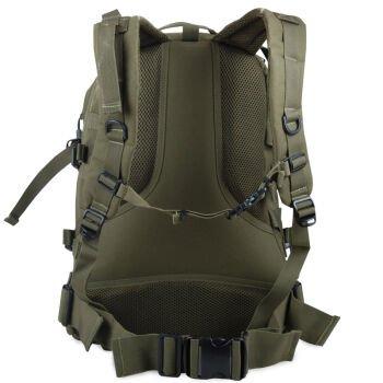 Outdoor-Klettern Tasche Schulter ihre Rucksäcke Fahrrad Taschen wasserdicht Camo taktische militärische Taschen drei Sand Tarnung Commando bekämpfen Rucksack 45L,40L,Armee-grün