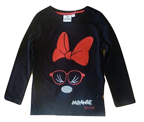Minnie -  maglia a manica lunga  - ragazza nero 4 anni