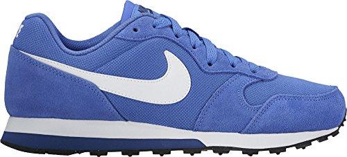 Nike Md Runner 2 (Gs), Chaussures de Tennis Garçon, M Bleu (Comet Blue / White / Binary Blue / Black)