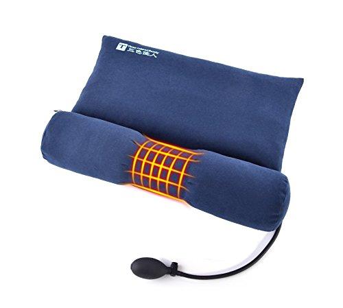 Almohada de semilla de cassia/Almohada cervical terapéutica-inflable cuello de almohada para el dolor...