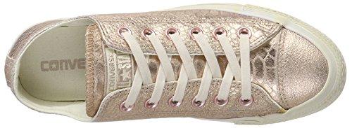 Converse All Star Snake, Baskets Donna Mehrfarbig (rosegold Reptile Métallique)