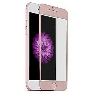 AIBULO 3D-Kantenabdeckung ausgeglichenes Glas-Schirm-Schutz für Iphone 6 / Iphone 6s (für Iphone 6 / Iphone 6s, rosa gold)