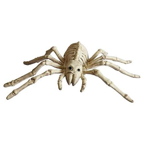 Wsjde decorazione di halloween scheletro di animale puntelli di ossa partito raccapricciante ragno pipistrello mouse scorpione lucertola ossa ornamenti hallowmas horrorspider