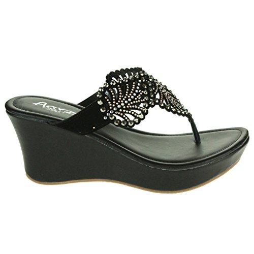 YFF Flache Sandalen Schlüpfen Sie in die Schuhe Frau Casual Schuhe Frauen Schuhe, grau, 5.