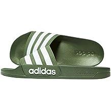 adidas badeschuhe grün