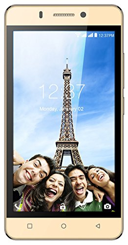 Intex Aqua Supreme+ (Champagne, 16GB, VoLTE)