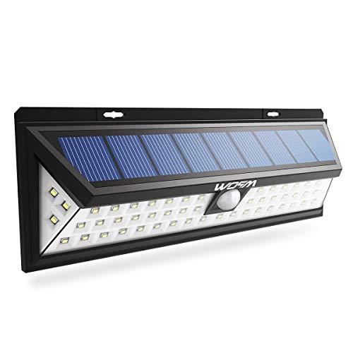 Luce solare con 54 led e sensore di movimento Mpow