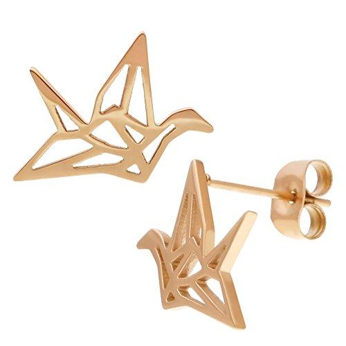 elbluvf-in-acciaio-inox-placcato-in-oro-rosa-peace-dove-bird-paper-crane-earrings