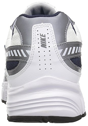 Mens Air Max Uptempo Fuse 360 â??â??Basketball-Schuhe 555006 WHITE/MTLC COOL GREY/OBSIDIAN