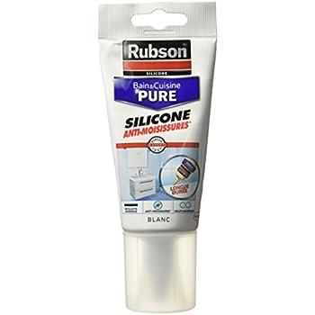 Rubson Tube Souple De Mastic Blanc BainCuisine Pure  Pour Des