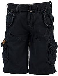 Geographical Norway Pantalones cortos de Carga geográficas hombres Noruega corto Bermuda polaco Hombres Navy (azul oscuro)