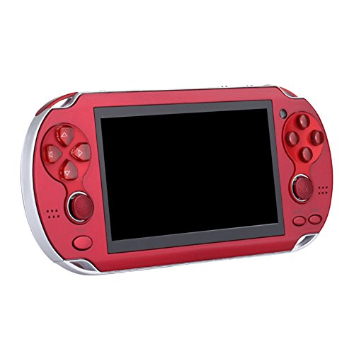 Balai 4,3 Zoll 8GB Handheld-Spielkonsole mit Dual Joystick , 7 in 1 Multifunktions, mp5 mp3 mp4 Player Kamera FM TV-Out Amr Mp3