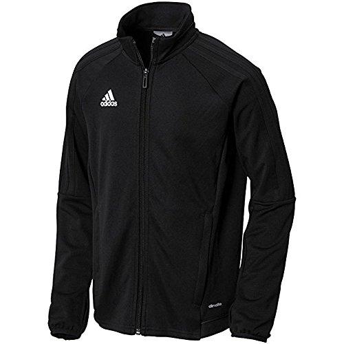 Adidas Youth tiro 17training giacca Black white