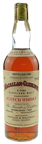Macallan Jahrgang 1940 - 35 Jahre alt - Originalabfüllung - Pure Highland Malt Scotch Whisky