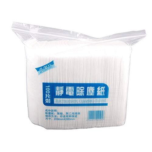 Ddbrand 100pcs Einweg Elektrostatisch Staub Entfernung Mop Papier Zuhause Küche Badezimmer Reinigungstuch