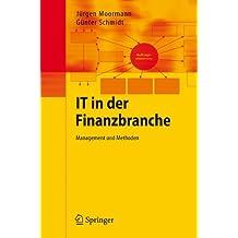 IT in der Finanzbranche: Management und Methoden