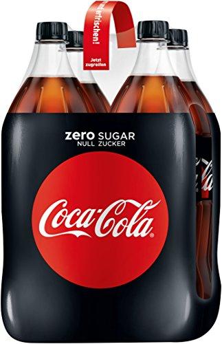 Preisvergleich Produktbild Coca-Cola Zero Sugar,  4 x 1.5L