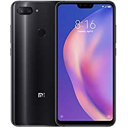 "Xiaomi Mi 8 Lite - Smartphone Dual SIM de 6.26"" nontch FHD+ (Snapdragon 660, RAM de 6 GB, Memoria de 128 GB, cámara de 24 MP, Android 8.1) Color Negro"