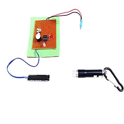 Laser Alarm Circuit || LDR Based Laser Security System ||BEST SCHOOL PROJECTS || Laser Light Also Include