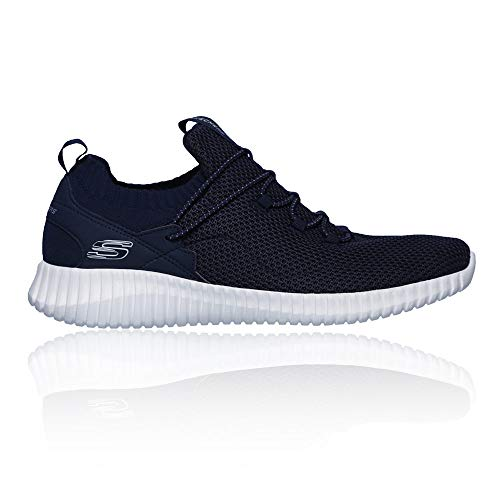 Skechers Mens High Apex Slip On Bungee Lace Trainers Shoes