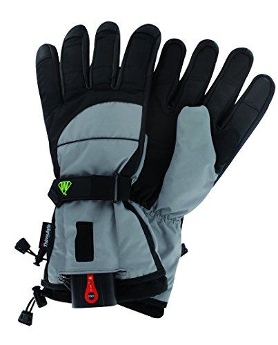 Wantalis Ecrin beheizte Handschuhe S schwarz/grau