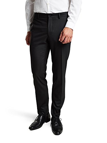 Jack & Jones Premium Roy - Pantalon - Droit - Homme Noir (Black Detail:SLIM FIT)
