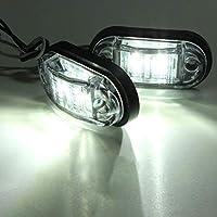 Lámpara profesional de la luz del intermitente del marcador lateral del coche de Piranha LED para los remolques del camión del coche 12 / 24V luz brillante estupenda