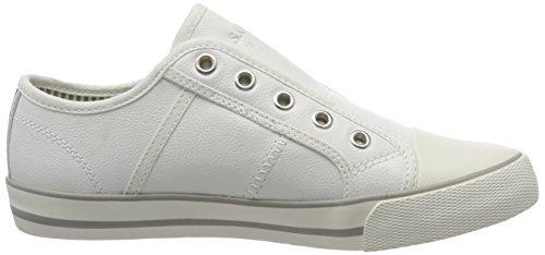 s.Oliver 24626, Sneakers Basses Femme Blanc (WHITE 100)