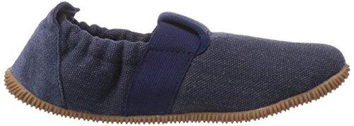 Giesswein Söll - Slim Fit, Chaussons courts, non doublées garçon Bleu - Blau (jeans / 527)