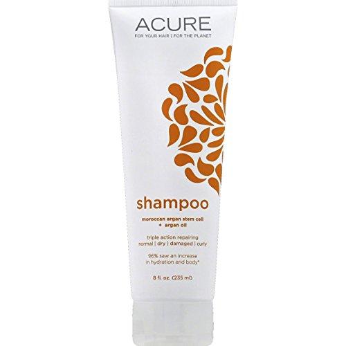 Acure Organics, Hydrating Shampoo, Moroccan Argan Stem Cell + Argan Oil, 8 fl oz (236 ml)