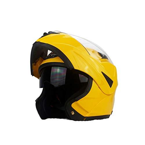 OLEEKA Casco de moto de cara completa Casco de bicicleta de calle,...