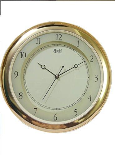 Ajanta Quartz Round Wall Clock 597 (Ivory)