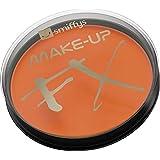 Smiffys Make-Up FX Aqua Face and Body Paint Water Based, 16 ml - Orange