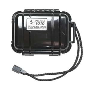 Peli 1010 Micro Case - Black with Black Liner