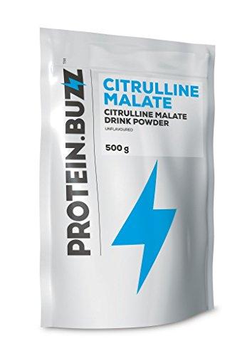 Protein Buzz Citrulline Malate, 500g Beutel (3er Pack)