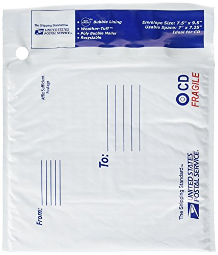 lepages-usps-cd-poly-mailer-7-x-725-inches-white-1-mailer-81251